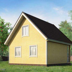 Дом из бруса Д-10
