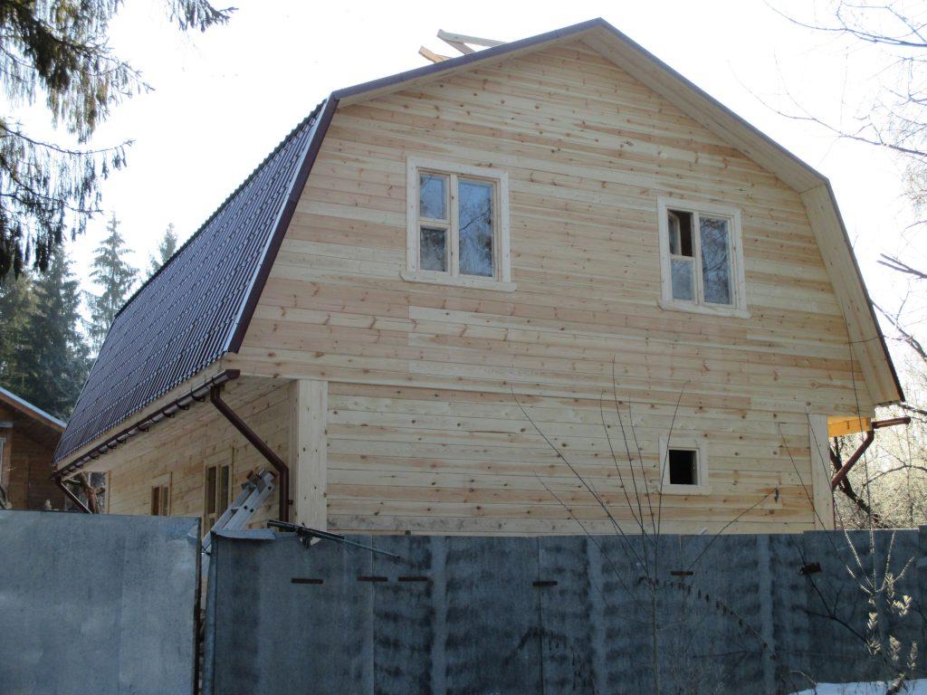 Дом из бруса Д-21