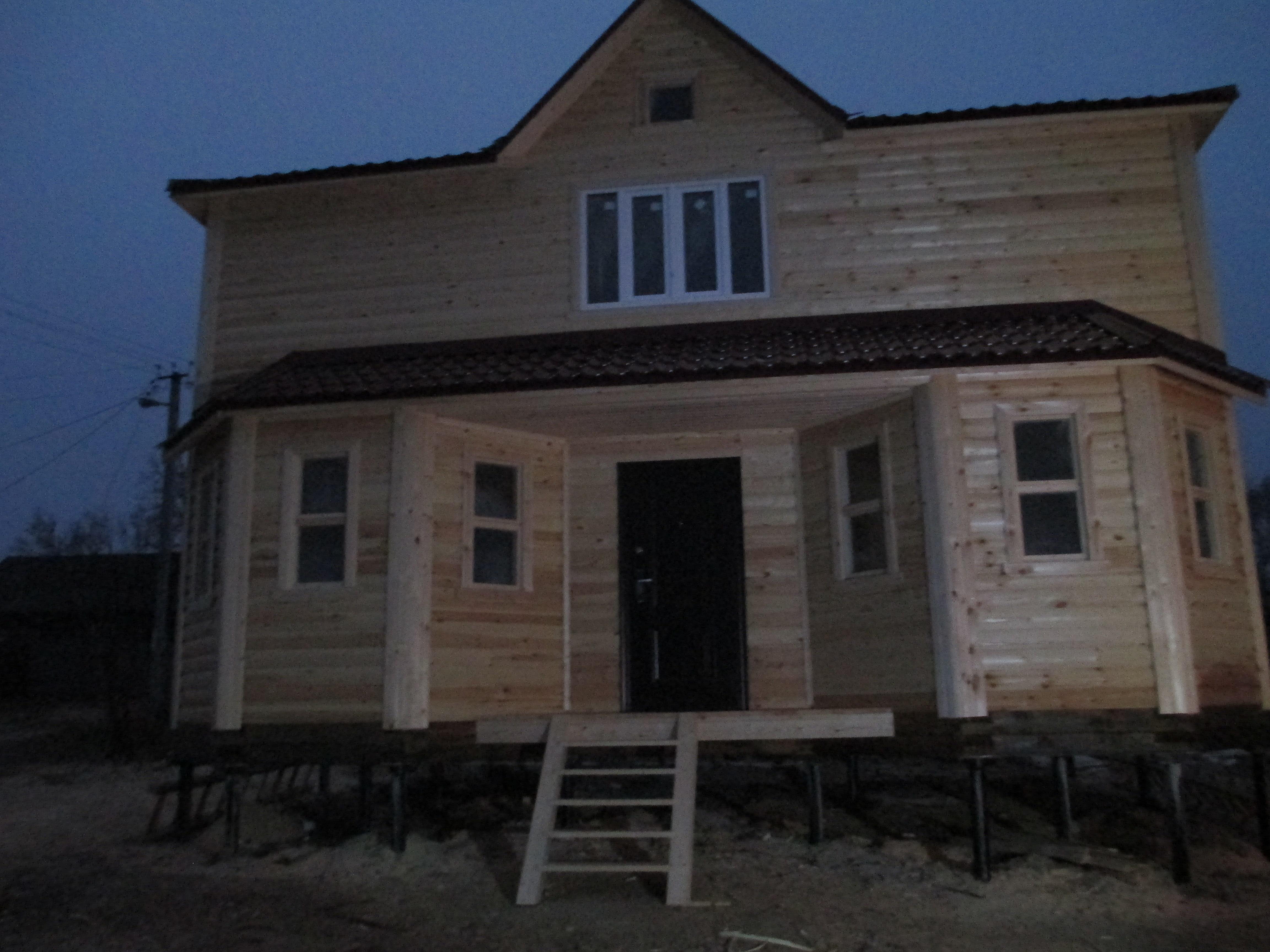 Дом из бруса Д-34