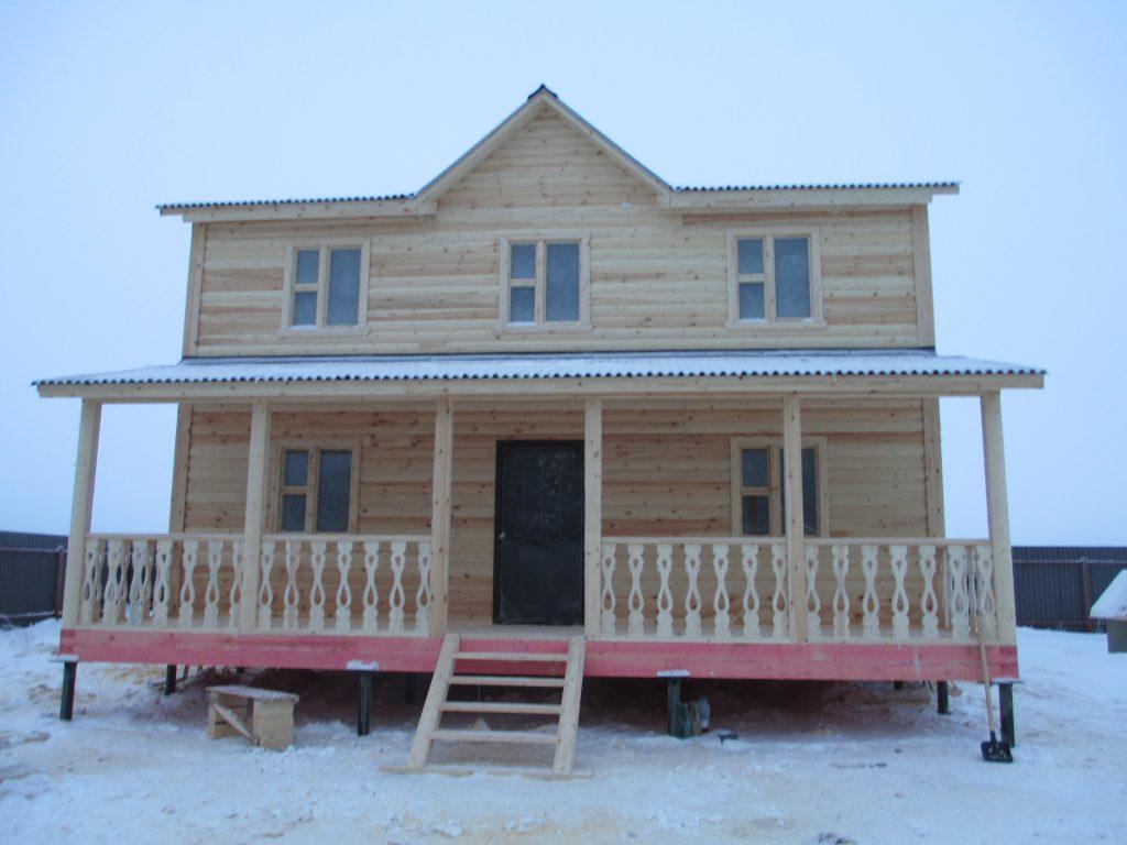 Дом из бруса Д-40