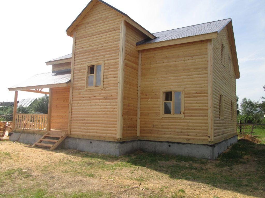 Дом из бруса Д-42