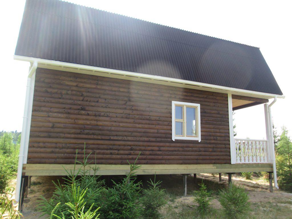 Дом из бруса Д-24