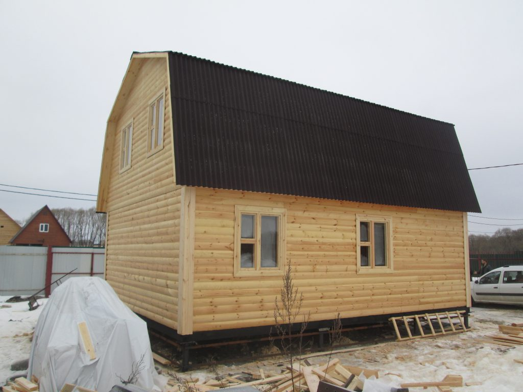 Дом из бруса Д-13