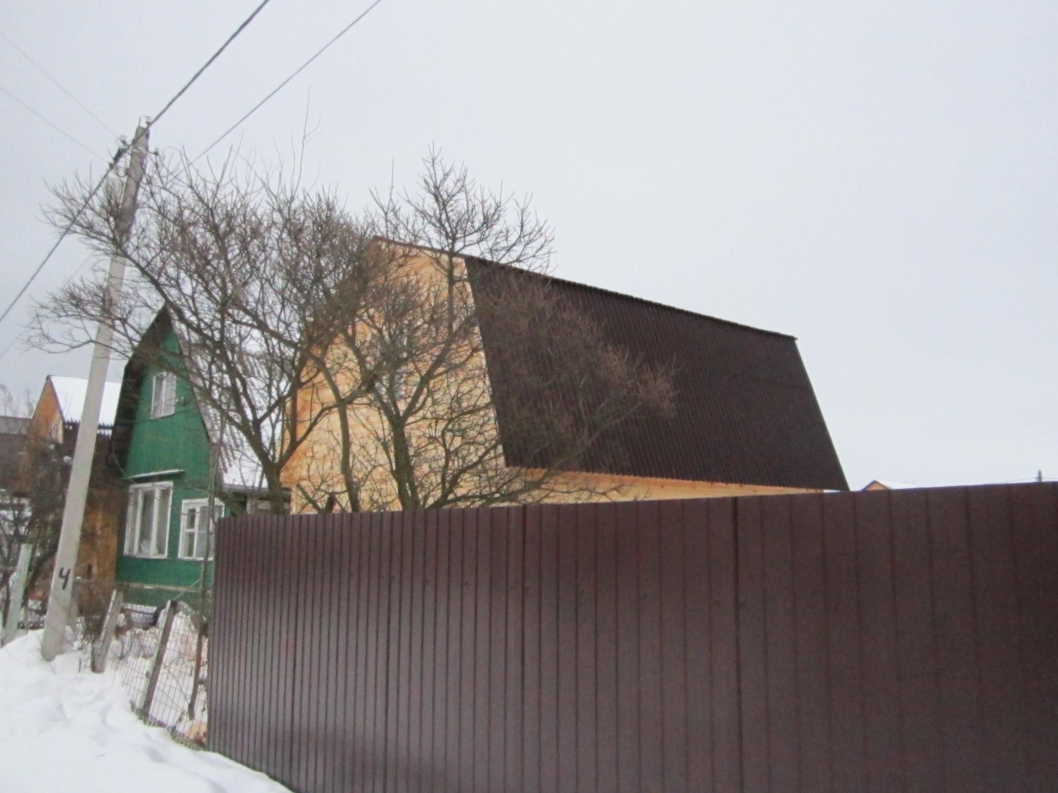 Дом из бруса Д-11